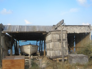 Boat shack
