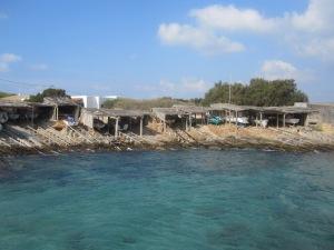 More boat shacks