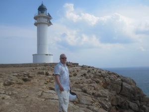 Josh at the lighthouse