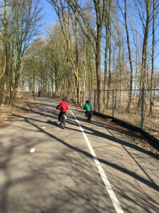 One of the best parts of the Netherlands is all the amazing bike paths!