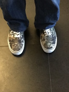 Yes, those are Boba Fett Vans...BEST.WIFE.EVER
