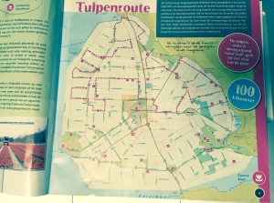 Our map of the tulip route