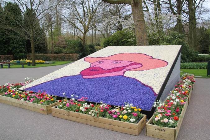 Van Gogh was the inspiration for this year's gardens.