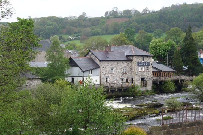 The Corn Mill from the other side of the river