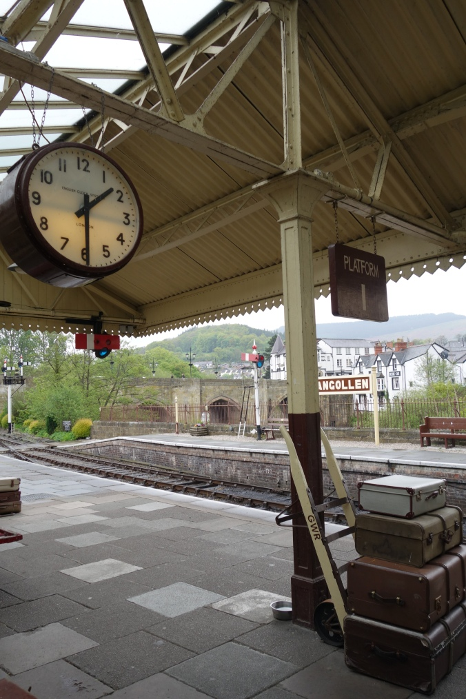The Llangollen Railway Station