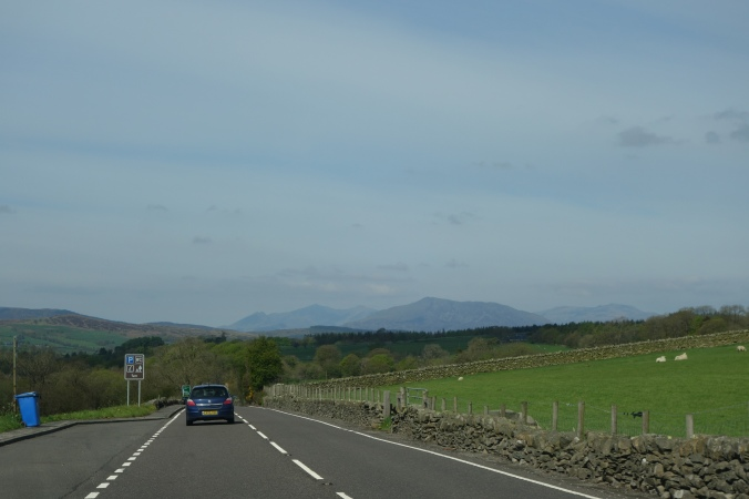 Snowdonia National Park in the distance