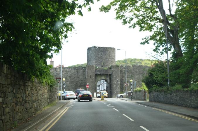Conwy Castle ahead!