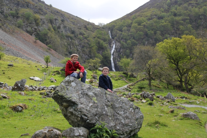 Almost to the Aber Falls!