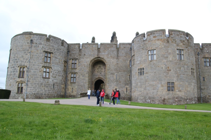 Castle entrance - less imposing than Conwy