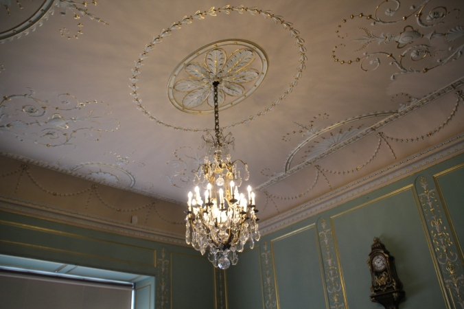 Beautifully ornate ceiling