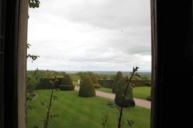 View of some of the gardens from the home
