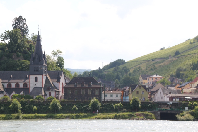 Bacharach from the water