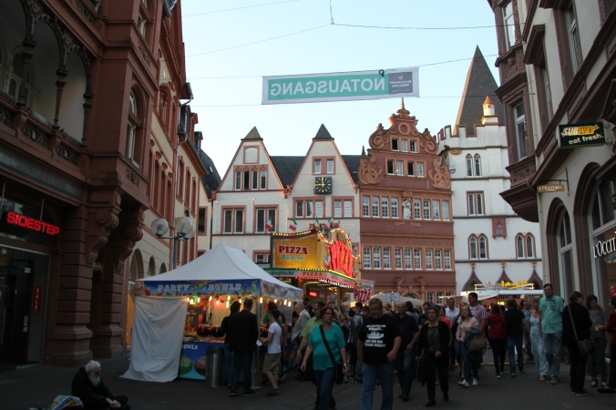 Really cute square in Trier