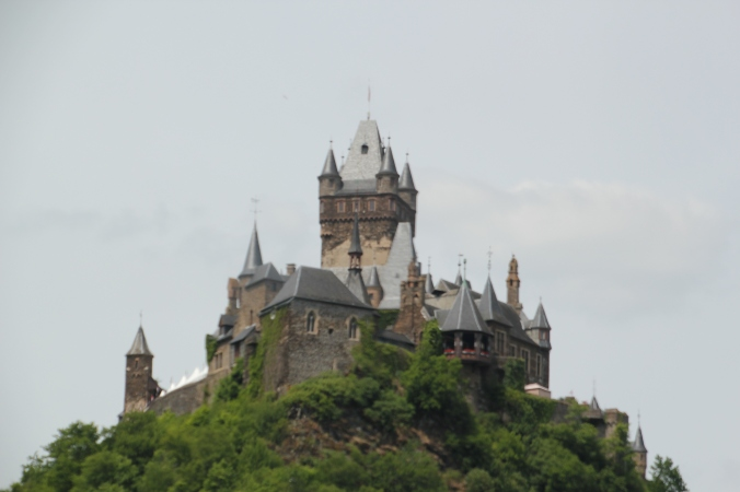 The castle upon our arrival in Cochem