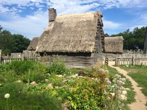 One of the Pilgrims homes