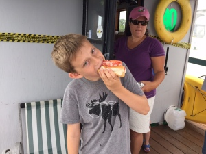 Mmmmm... lobster roll - a New England tradition