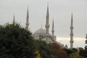 The Blue Mosque from a distance