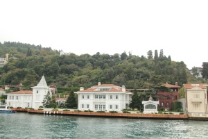 A few more beautiful homes along the Bosphorus