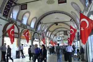 More modern side of the bazaar