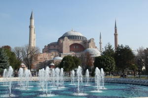 Hagia Sophia with fountain