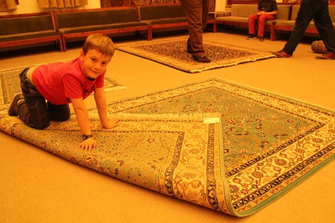 Our new Hereke carpet