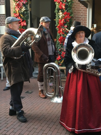 More carolers - with instruments!