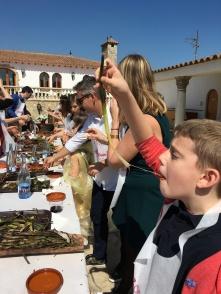 Aidan loves this Catalan tradition