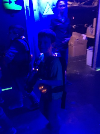 Laser tag fun