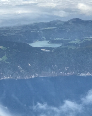 All the photos of the island are from the plane